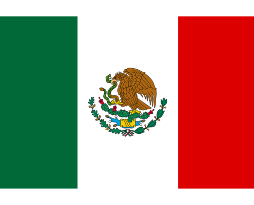 Mexico flag, mexique