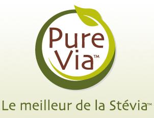 Naming : Pure Via, une gamme de produits dédiés à la Stevia