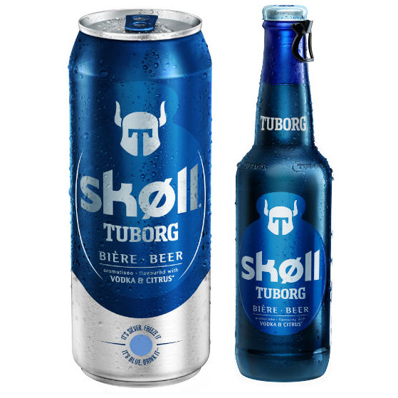 Naming : nouvelle gamme de bière Sckoll de Tuborg par les brasseries Kronenbourg