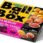 Naming : Ball In Box, les boulettes de pomme de terre Fleury Michon