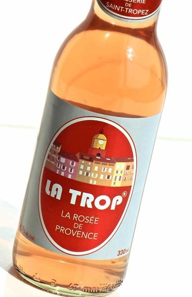 Naming : La Trop, la boisson au vin et à la bière de Hoegaarden