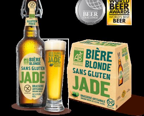 Jade, la bière Bio