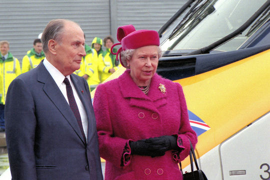 6 mai 1994 inauguration Eurostar