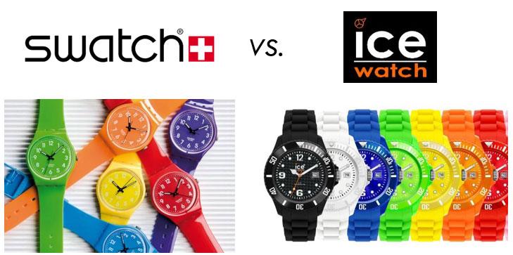 Swatch contre Ice Watch : un conflit juridique de longue haleine.