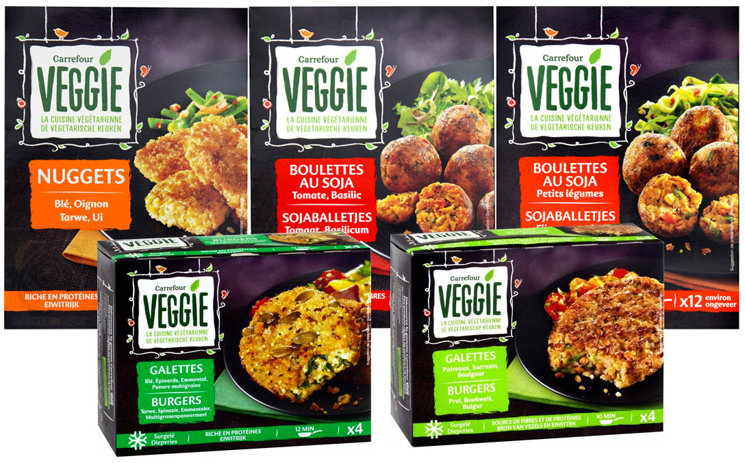 Carrefour Veggie, Carrefour Vegan