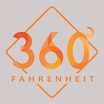 360° FAHRENHEIT logo