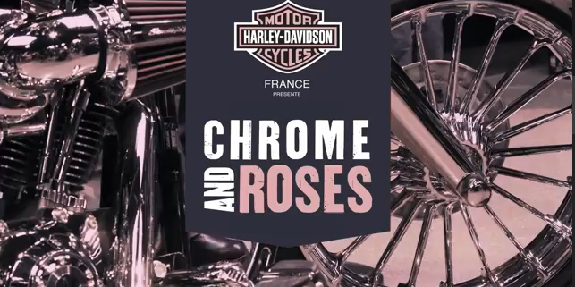 Chrome and Roses, Harley Davidson