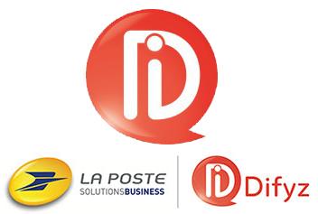 Difyz logo_La Poste