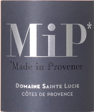 MIP, Made In Provence, vin