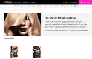 Mousse Absolue de L'Oréal : l'innovation est dans la mousse, pas dans le nom.